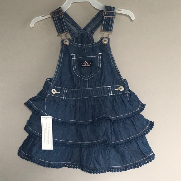 9cf356cb9b6b Jordache Toddler Girl s Tiered Ruffle Skirt Sz 2T